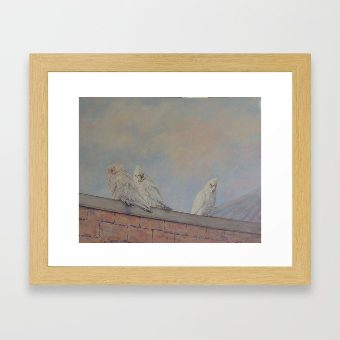Two's company Framed Art Print