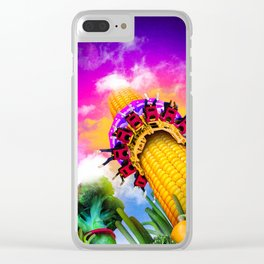 Corn & Raised Clear iPhone Case