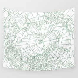 Green Planet Wall Tapestry