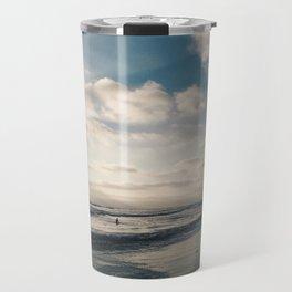 Sunset on the Seashore Travel Mug