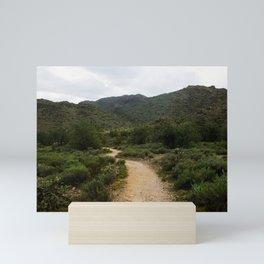 The Green Desert Mini Art Print