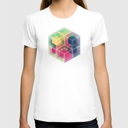 Colorful Cubes T-shirt