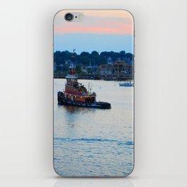 Red Tug Boat iPhone Skin