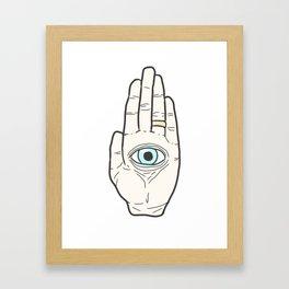 Godhand Framed Art Print