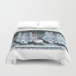 Feast of Wire Duvet Cover