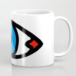 Three Open Eyes Coffee Mug