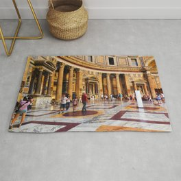 The Pantheon, Rome, Italy Rug