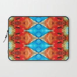 Peace Offering - Pattern Art By Sharon Cummings Laptop Sleeve