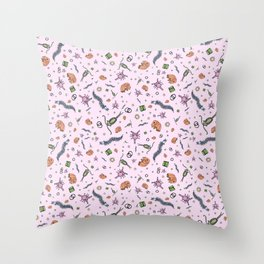 Pretty Science Throw Pillow