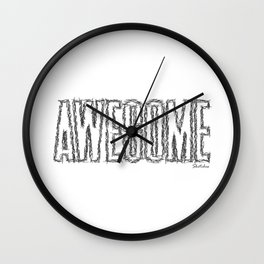 AWESOME Wall Clock
