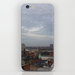 View from the Round Tower Copenhagen 1 iPhone Skin