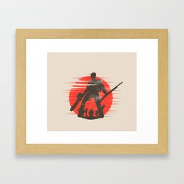 Wicked Rudeboy Framed Art Print
