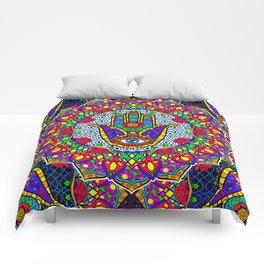 Hamsa Harmony Mandala Comforters