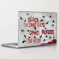 dramatical murder Laptop & iPad Skins featuring MURDER  -  021 by Lazy Bones Studios
