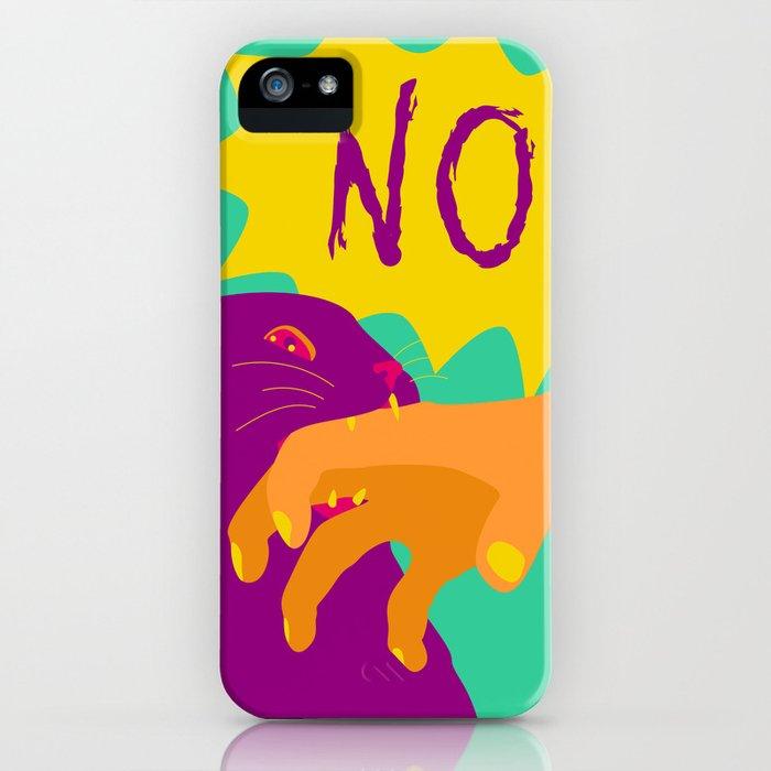 Pussy Bites Back iPhone Case