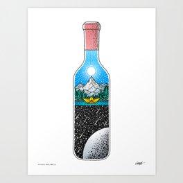 Peace of Mind - Colored - Visothkakvei Art Print
