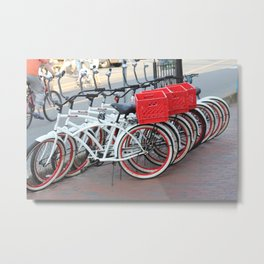 I want to ride my bike..... Metal Print