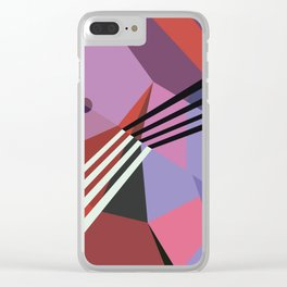 Amazing Runner No. 14 Clear iPhone Case