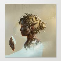 elf Canvas Prints featuring Elf by LauraSava