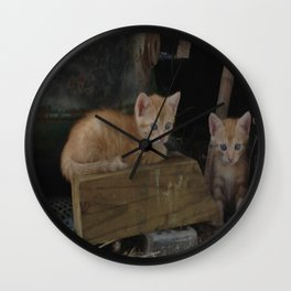 More Kitty Kats!!! Wall Clock