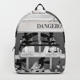 Dangerous Woman Drawings Design Pattern Backpack