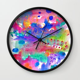Popsicle Playground Wall Clock
