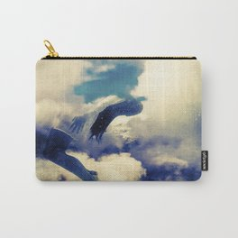 Woman and sky Carry-All Pouch