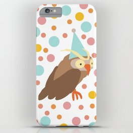 Party Owl iPhone Case