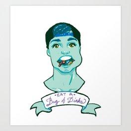 Bag of D*cks Art Print