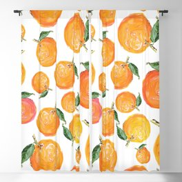 Rome Forest Oranges Blackout Curtain