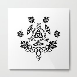 Celtic Design Metal Print