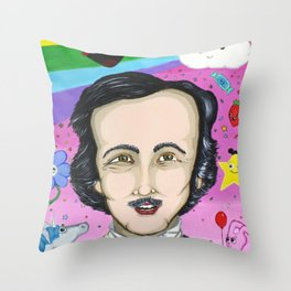 Poe you didn't know Throw Pillow