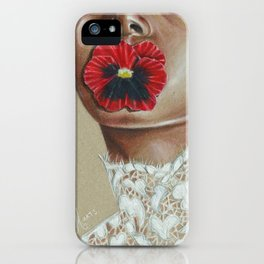 Love-in-idleness iPhone Case