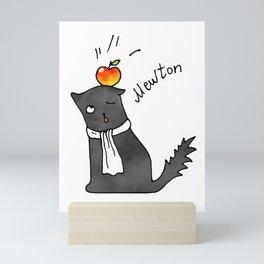 Cat Mewton Mini Art Print