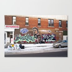 McFly Street Art Canvas Print