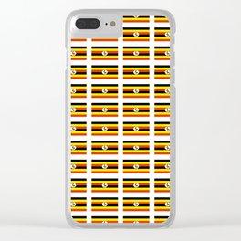 Flag of Uganda – Ugandan,ugandes,Kampala,Kyoga,Turkana. Clear iPhone Case