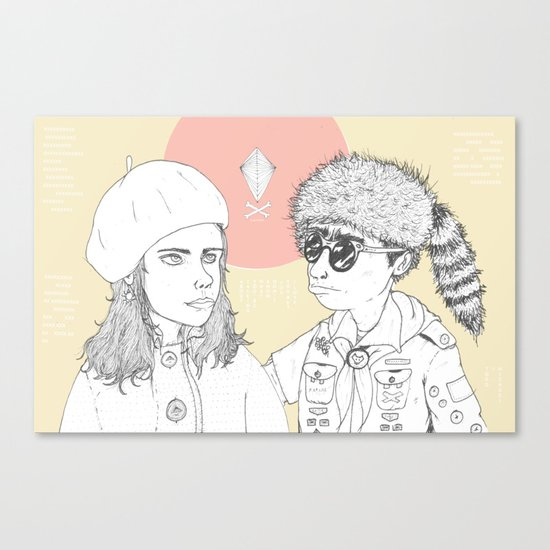 """I love you but you don't know what you're talking about"" Canvas Print"
