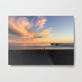 Waves in the Sky Metal Print