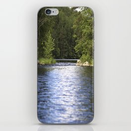 Relaxing View To The Lake iPhone Skin