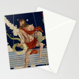 Vintage Astronomical Print - Bayer - Ophiuchus, 1603 Stationery Cards