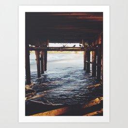 Santa Cruz, CA Art Print