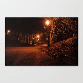 Eerie Park Canvas Print
