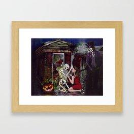 RARE LOVE, Halloween, Original art Framed Art Print