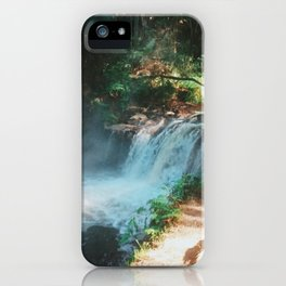 Kerosene Creek, Rotorua, New Zealand iPhone Case