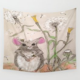 Squeak The Mouse Wall Tapestry