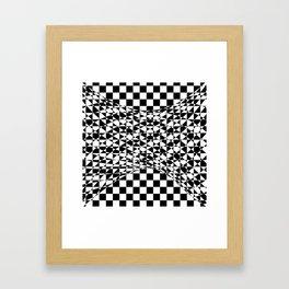 bw welle Framed Art Print
