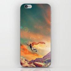 THE MAN WHO WANNA FLY AWAY iPhone & iPod Skin