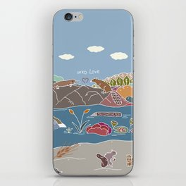 NERD Love iPhone Skin