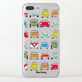 Beta+family cars Clear iPhone Case