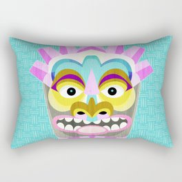 Hawaiian Tiki Aloha Rectangular Pillow